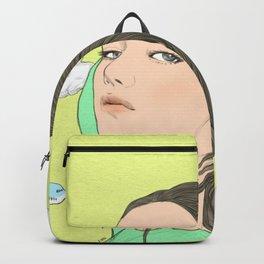 GIRL / TRAVEL / SKY / AIRPLANE Backpack