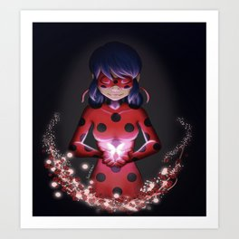Bye Bye, Little Butterfly Art Print