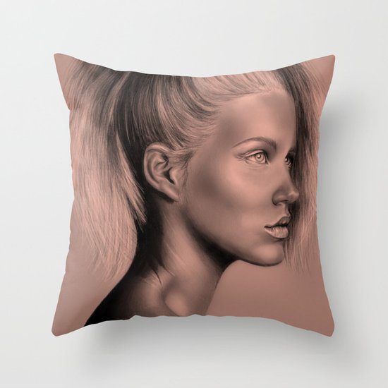 + RUSSIAN DOLL + Throw Pillow