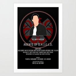 Agents of S.H.I.E.L.D. - Ward Art Print