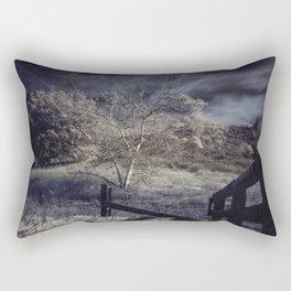 Dark Landscape Rectangular Pillow