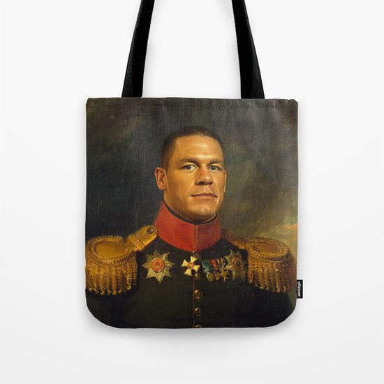 John Cena - replaceface Tote Bag
