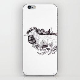 Sheep - Go Vegan iPhone Skin