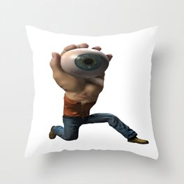 Successful Retrieval Throw Pillow