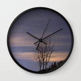 Wintergreen Wall Clock