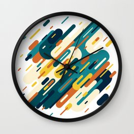 Lines from Retro Wall Clock