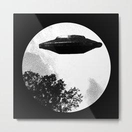 UFO-I want to leave Metal Print