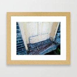 Factory Doorstep Framed Art Print