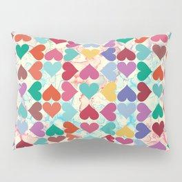 Colorful Love Pattern Pillow Sham