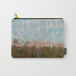 Berlin skyline  impressionism style Illustration  / abstract landscape drawing Carry-All Pouch