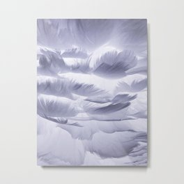 reve de plumes - dream feathers - nuage soft cloud Metal Print