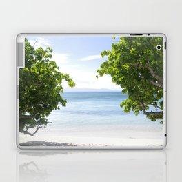 Alone on the beach Laptop & iPad Skin