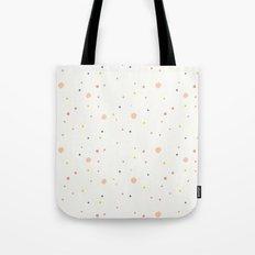 Colorful confetti Tote Bag
