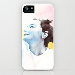 Splash Bjork iPhone Case