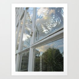 clouds in the greenhouse #3 Art Print