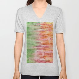 Firey Forest Unisex V-Neck