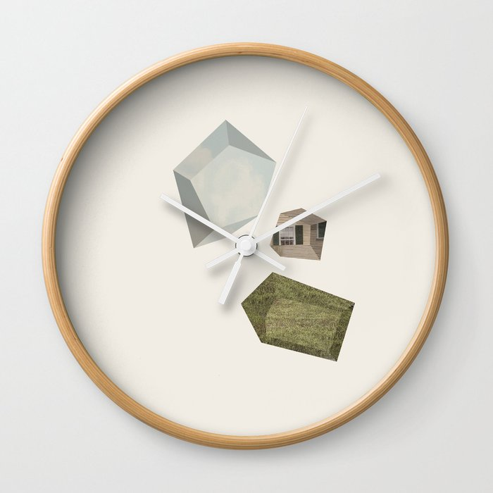 Suburban Dream Wall Clock