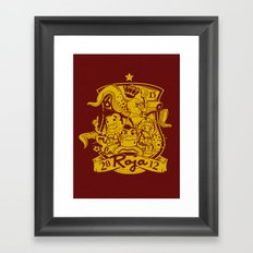 La Roja Framed Art Print