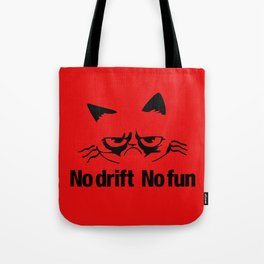 No drift No fun v5 HQvector Tote Bag