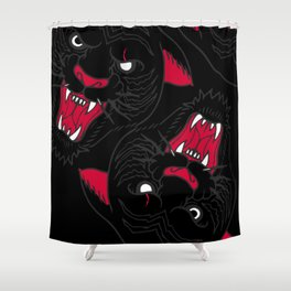 SURVIVAL OF THE FITTEST pt 2 Shower Curtain