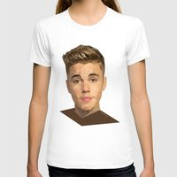 justin timberlake T-shirts featuring Justin by Maxx Hendriks