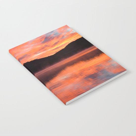 Sunrise Ripples Notebook