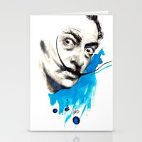 dali Stationery Cards featuring Dali by Mitja Bokun