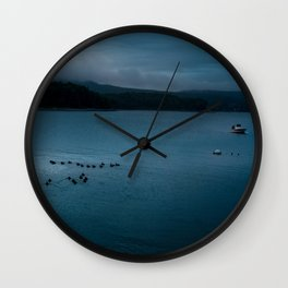 Sea Fever Wall Clock