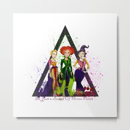 If The Broom Fits Metal Print