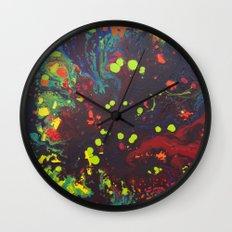 Abstract drops. Wall Clock