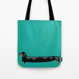 dachshund - wiener dog - i love my wiener Tote Bag