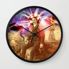 Electric Scientist Wall Clock