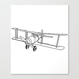 Pilots Since 1903 Stewardess Plane Flight Meal Baggage Design Canvas Print