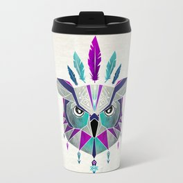 owl king Travel Mug