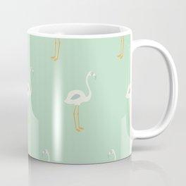 Flamingo Mint Pattern 005 Coffee Mug