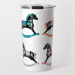 Rocking Horses Travel Mug