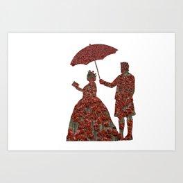 Poppy Queen Art Print
