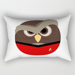 Redshirt Owl Rectangular Pillow