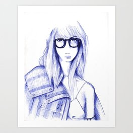 Bridgette Art Print