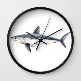 Porbeagle shark (Lamna nasus) Wall Clock