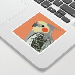 Marcus the cockatiel Sticker