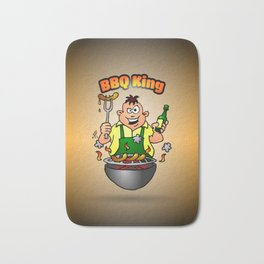 BBQ King Bath Mat