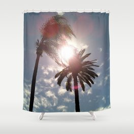 Sun In Your Palms Shower Curtain