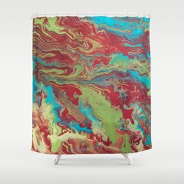 Psychedelic Collection Shower Curtain