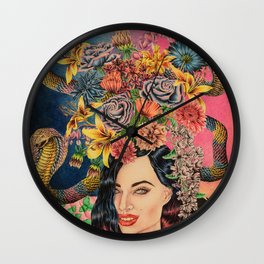 Babealonian Still Life Wall Clock