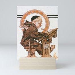12,000pixel-500dpi - Joseph Christian Leyendecker - St. Valentine's Day - Digital Remastered Edition Mini Art Print