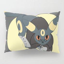 Dark Steampunk Fox Pillow Sham