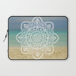 Beach Mandala Laptop Sleeve