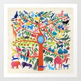 Tree of Life II Art Print
