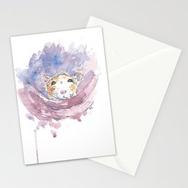 Cosy rat. Stationery Cards